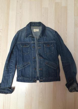 Женская джинсовая куртка cat
