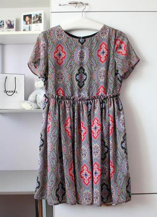 Красивое шифоновое платье от asos petite