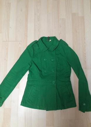 Джинсовая куртка пиджак h&m