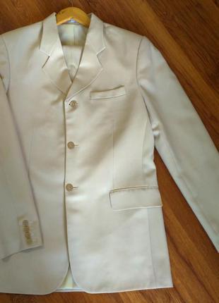 Классический выпускной/свадебный костюм (двойка) на высокого мужчину, пиджак xl+ брюки м