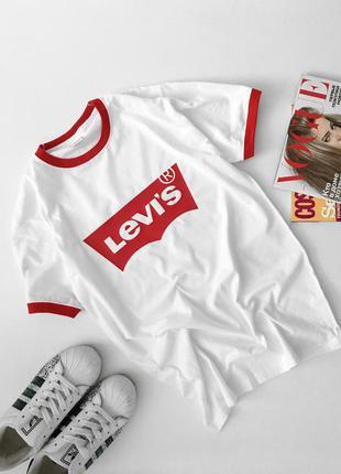 Футболки levi's с манжетами все размеры и цвета  levis