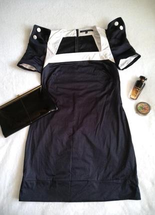 Стильное маленькое чёрное платье вечернее новогоднее коктейльное