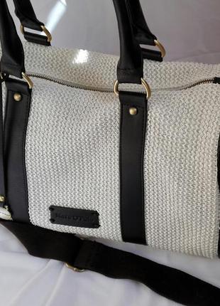 Летняя сумка marc opolo из соломки