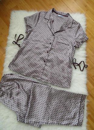 Роскошная атласная пижама