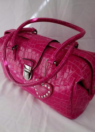 Розовая сумка-саквояж pic2  от picard