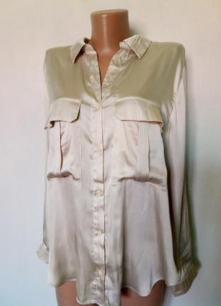 """Блуза,блузка ,рубашка под """"шелк"""""""