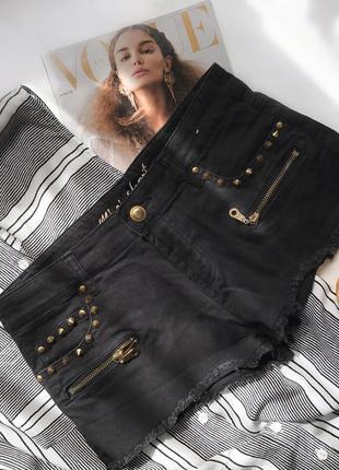 Розпродажа ! чорні джинсові шорти мастхев чёрние шорты м розпродажа !