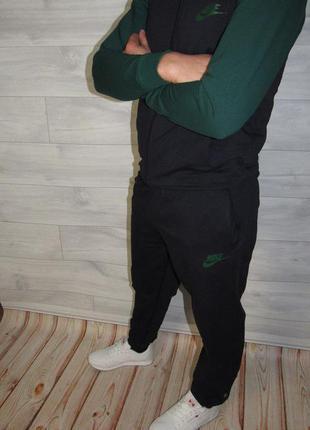 Супер стильный спортивный костюм найк!! с манжетами !44-52