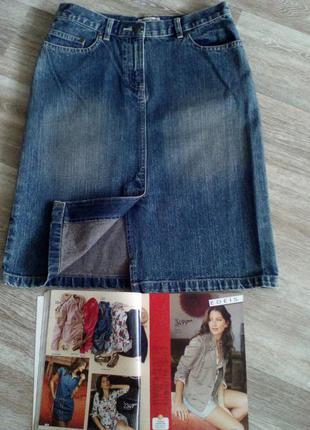 Крутая джинсовая юбка  8  cherokee