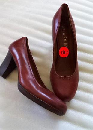 Кожа! шикарные туфли/супер комфорт/мягкая стелька на среднюю ногу