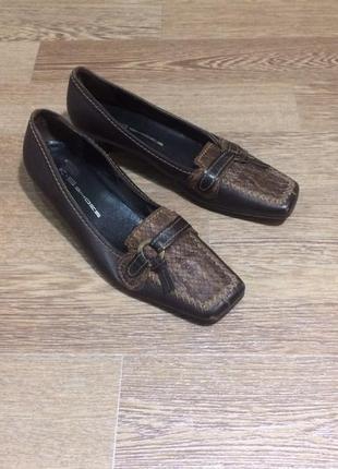 Кожаные туфли k+s   3  1/2 размер