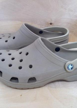 Тапки тапочки сабо crocs ( 45 - 46 размер )