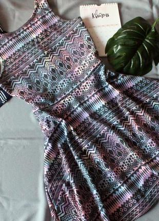 Платье в орнамент / плаття