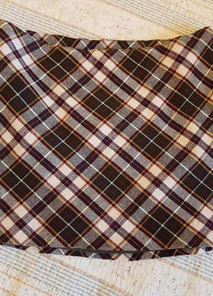 Мини-юбка h&m на 36-38 размер