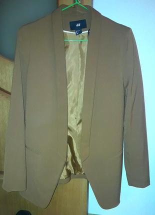Пиджак h&m жакет блейзер