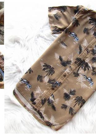 Стильная и качественная рубашка с коротким рукавом river island