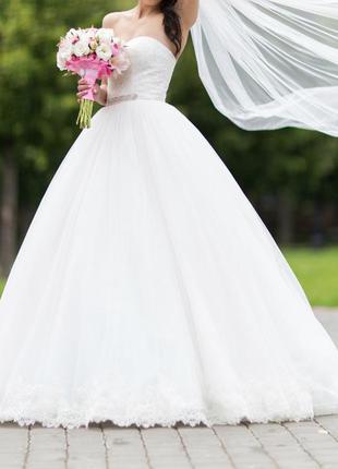 "Шикарное свадебное платье ""dominiss"""