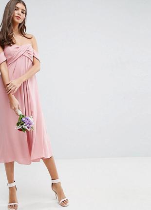 Платье миди asos,р-р 16