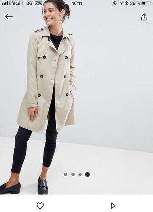 Идеальный легкий тренч от vila clothes