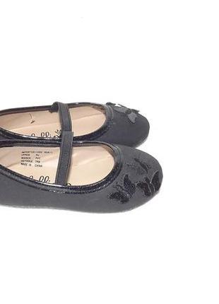 Балетки туфли 21 размер, нарядные 13,2 стелька lollipop