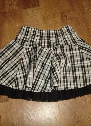 Нарядная юбка dunnes на 2-3 года, (реально дольше)