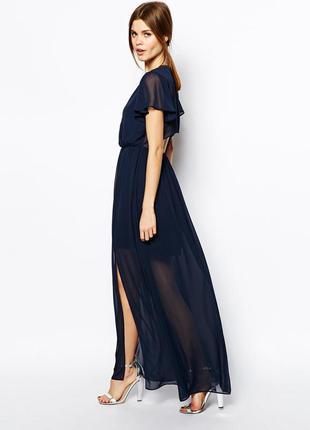Длинное вечернее платье  asos