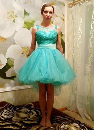 Шикарное платье для королевы выпускного! распродажа в связи с закрытием салона!