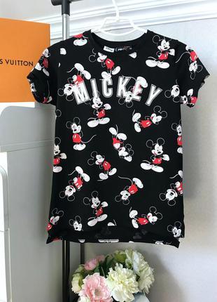 Стильная футболка с надписью mickey от disney