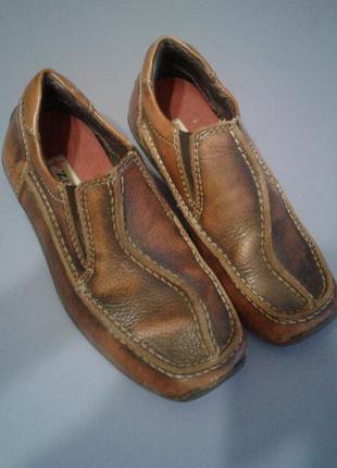 Очень!удобные кожаные туфельки