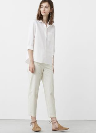 Рубашка блуза mango 100% коттон