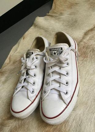 Белые converse