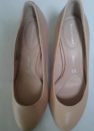Туфли цвета пудры rockport