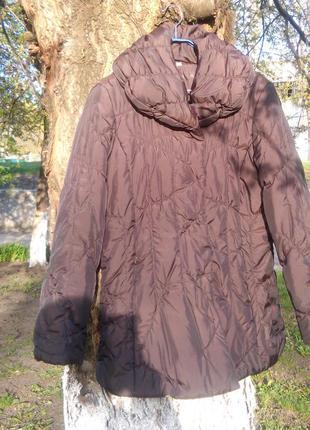 Куртка демисезонная коричневая женская