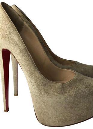 Туфли отличного качества (натуральная замша!)
