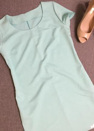 Актуальное платье прямого покроя италия