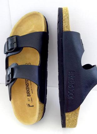 Ортопедические сандалии birkenstock arizona . оригинал. кожа. размер 37