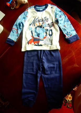 Детский трикотажный костюм chicco