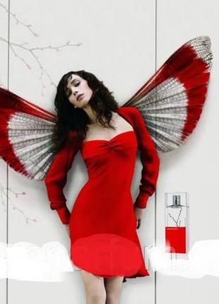 Женская оригинальная туалетная вода armand basi in red 100мл(цветочный аромат)