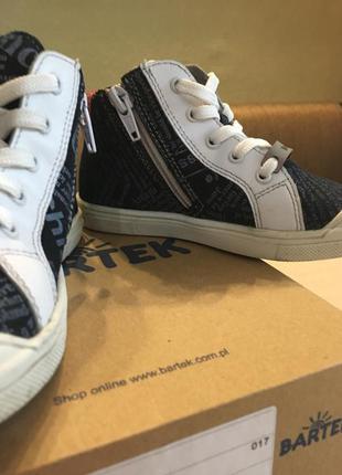 Кеды ботинки bartek