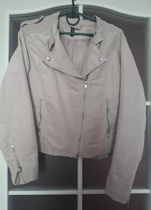 Косуха замшевая , летняя курточка