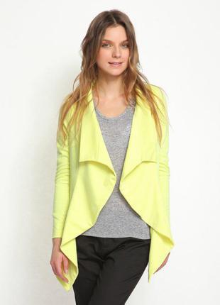 Желтый жакет top secret. женский пиджак, кардиган