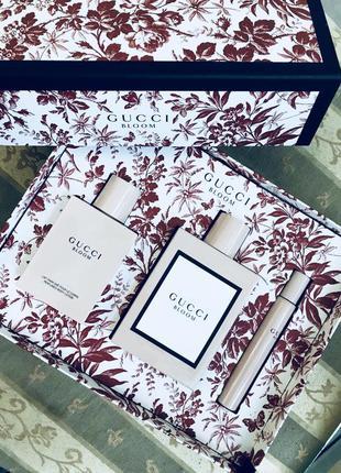 Оригинальный набор духов gucci bloom
