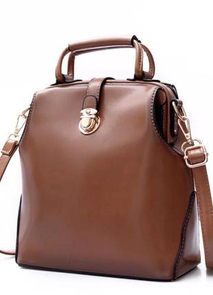 Стильный винтажный рюкзак