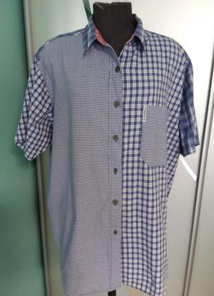 Оригинальная рубашка большого размера