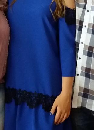 Летнее платье(одевала 1 раз на выпускной 9 класса)