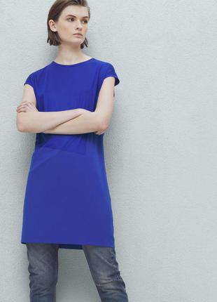 Оверсайз платье mango как zara платье-туника короткое платье выпускное