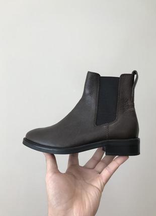 Кожаные челси h&m leather