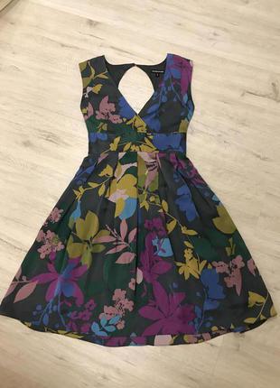 Платье шёлк warehouse
