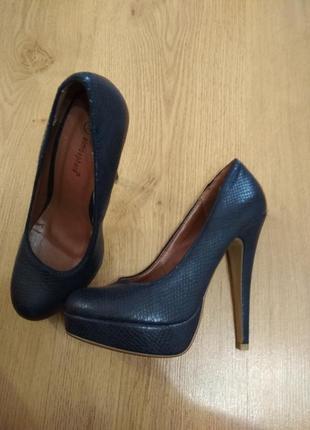 Туфли синии