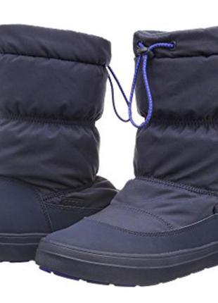 Зимние ботинки crocs размер 38